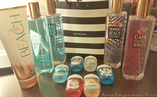 hayleyxmartin | Bath & Body Works Haul