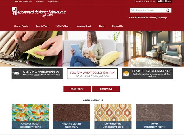 discounteddesignerfabrics.com, by expresstechsoftwares.com
