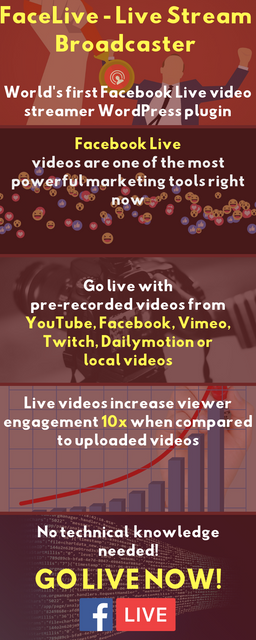 FaceLive - Live Stream Broadcaster Plugin