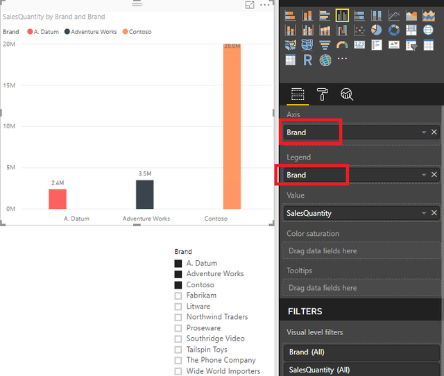 Position based coloring of the bar in power BI2