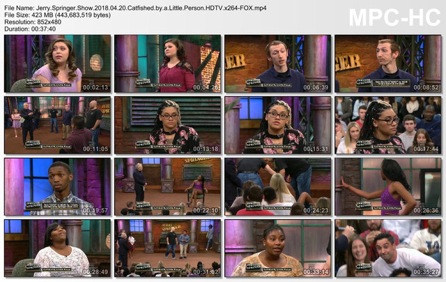 Jerry Springer Show 2018 04 20 Catfished by a Little Person HDTV x264-FOX mp4