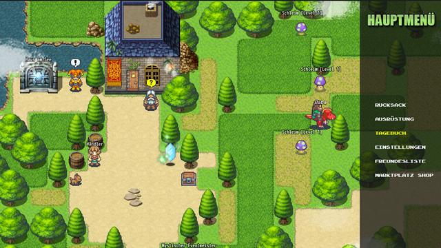 Monster Island Pocket Edition <Online RPG> Beispiel_Menu