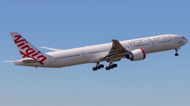 Virgin Australia 777 VH VPE 190618 V1