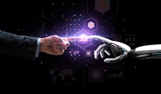 describir la cooperación entre humanos y robots