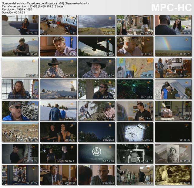 Cazadores de misterios: Tierra Extraña 3/6 1080p