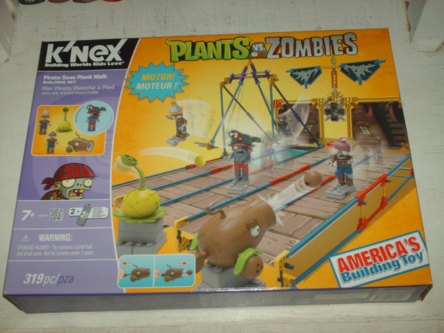 Knex PVZ Pirate Seas Plank Walk