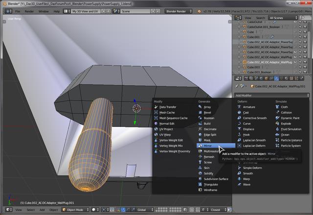 Part 1 MakingOf: Blender Universal AC-DC Adaptor — imgbb com