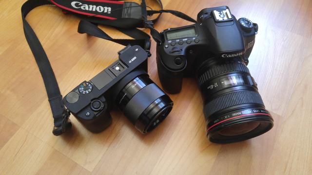 Canon 60 D Sony A6000