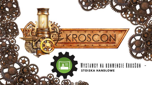 Stoiska sprzedażowe na podkarpackim konwencie KrosCon