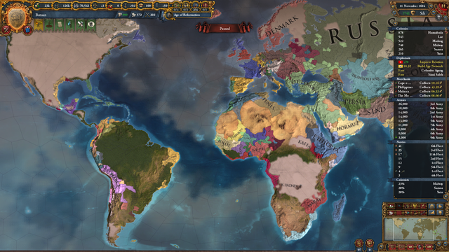 Front Office Football Central - EU4 Dynasty - The Rajahnate of