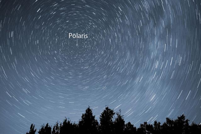 Polaris star trails July 25 2011 S ANNO