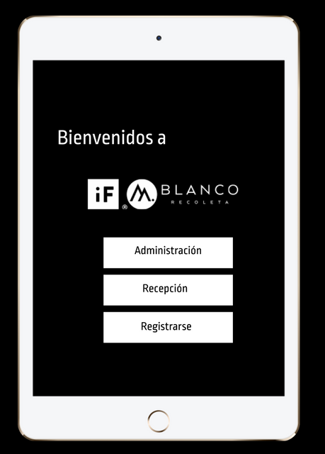 Sistema de Registro if Blanco