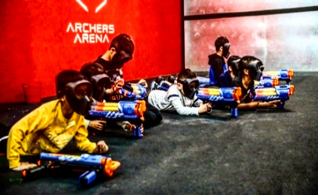 Nerf Gun Party in Los Angeles by AirballingLA | Birthday Parties for Kids in Los Angeles