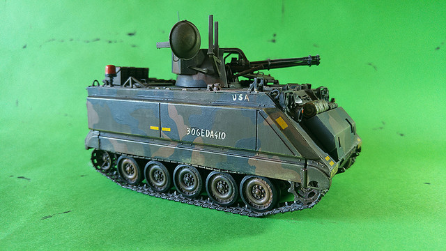 M-113 VULCAN  1/35 Italeri M113_b