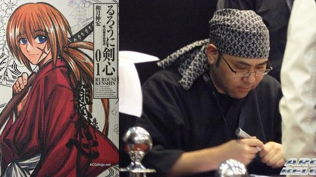 Cha đẻ Rurouni Kenshin bị bắt vì phát hiện tàng trữ phim ấu dâm