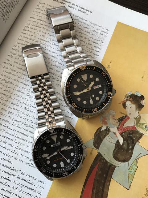 MIs dos primeros divers de Seiko... Seiko_duo