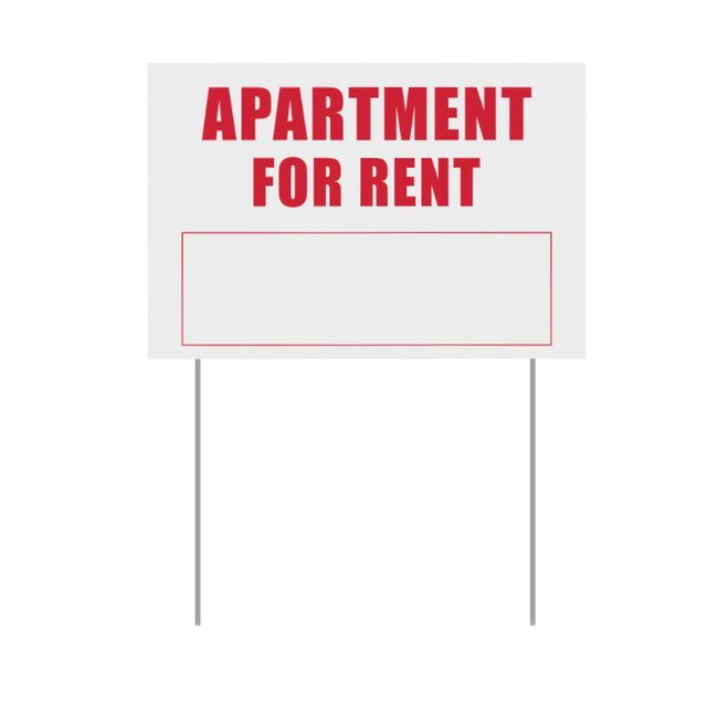 Ebay Apartment For Rent: Apartment For Rent Yard Lawn Sign Outdoor Garden Decor