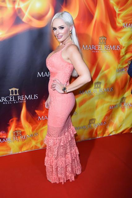 Remus Lifestyle Night at Llaut Palace Hotel Featuring Daniela Katzenberger Where Palma De Mallorca S