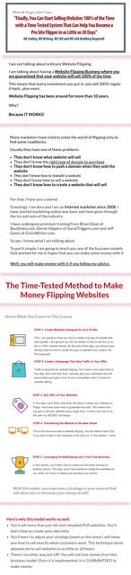 Website Flipping Ebook: Easy Way to Website Marketing, A Step by Step Website Flipping Course