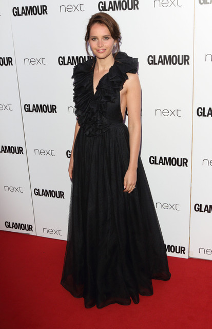 London UK Felicity Jones at Glamour Women Of The Year Awards at Berkeley Square Gardens London on Ju