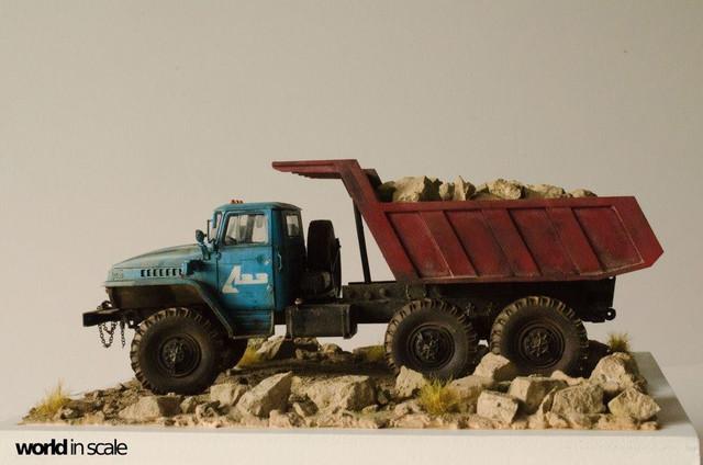 "Ural-4320 ""Dumper Truck"" - 1/35 by Trumpeter, Balaton Modell 25587730_960247374142778_7103799638818458543_o"