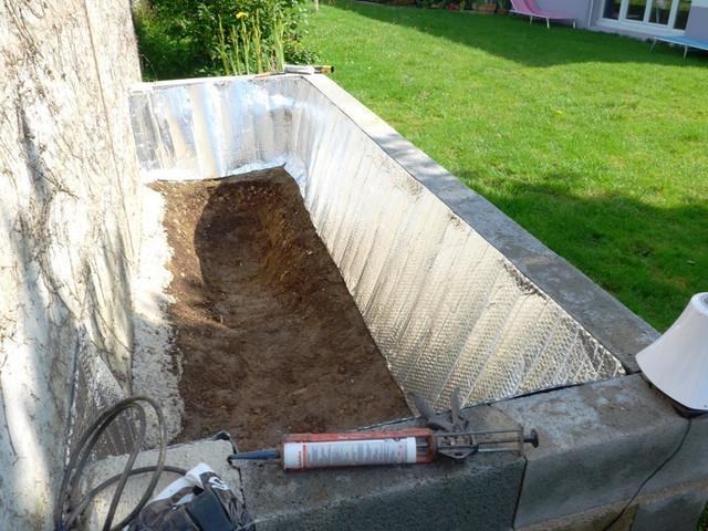 aquadico forum bassin hors sol avec mur v g tal et filtration conomique. Black Bedroom Furniture Sets. Home Design Ideas