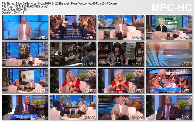 Ellen DeGeneres Show 2018 04 20 Elisabeth Moss Van Jones HDTV x264-FOX mp4