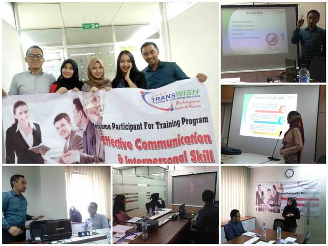 Effective Communication Skill and Interpersonal Skill Training TransWISH Indonesia-Training Komunikasi efektif