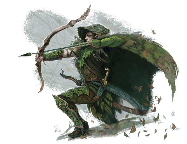 2 Elven Archer Bow Master