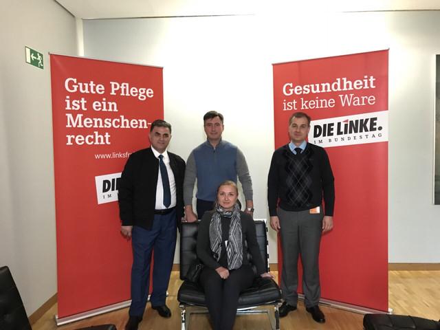 Руководители «РАЗУМНОЙ СИЛЫ» в Бундестаге, в крыле партии Die Linke.