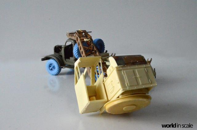 ZIL-157 + Bleichert-Crane - 1:35 by Trumpeter, ... 24958738_954753728025476_2641855608940175409_o