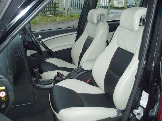 Saab interior