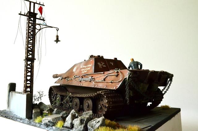 Jagdpanzer E-75 - 1:35 v. Trumpeter, Bolddivision DSC_2822