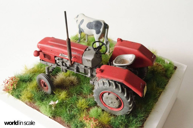 Zetor 3511 - 1:35 of SKP Models 24059594_946722332161949_7500090795636328193_o