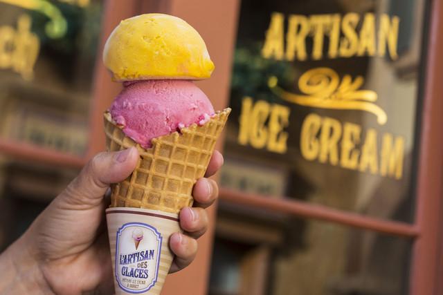 Ice cream at Epcot Walt Disney World