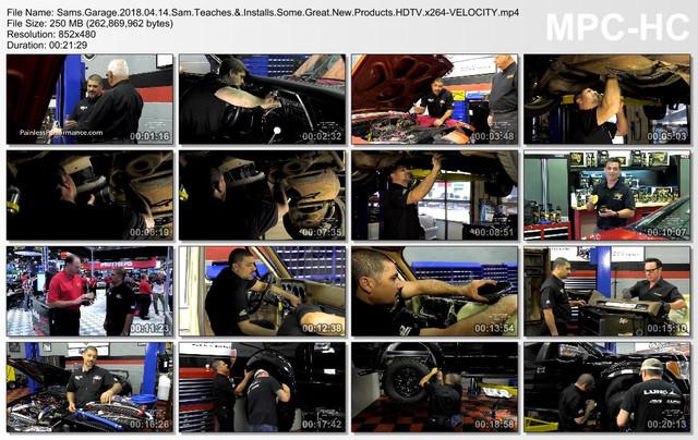Sams Garage 2018 04 14 Sam Teaches & Installs Some Great New Products HDTV x264-VELOCITY mp4
