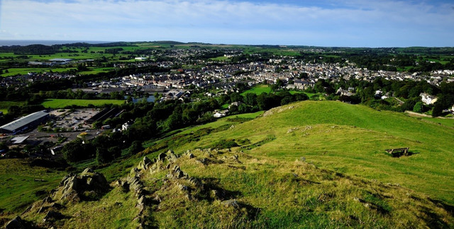 Ulverston's picturesque views