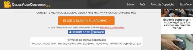 online video converter mp3