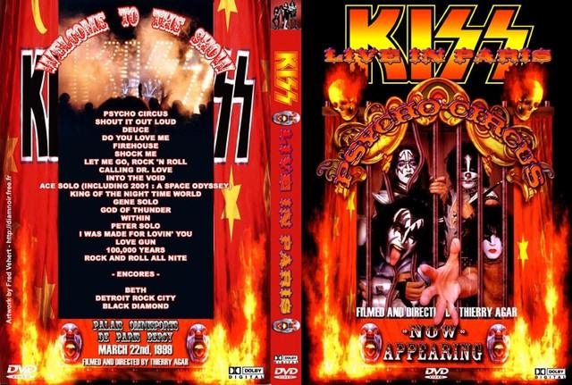 KISS - 1999-03-22 ~ Paris, France 2nd Edition - Guitars101 - Guitar