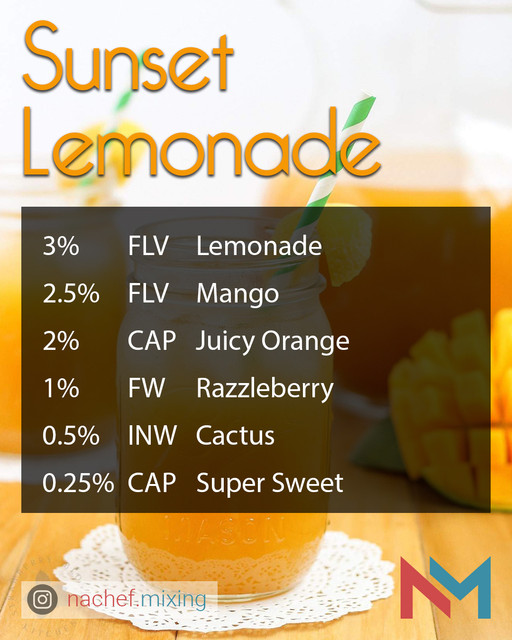 Sunset Lemonade