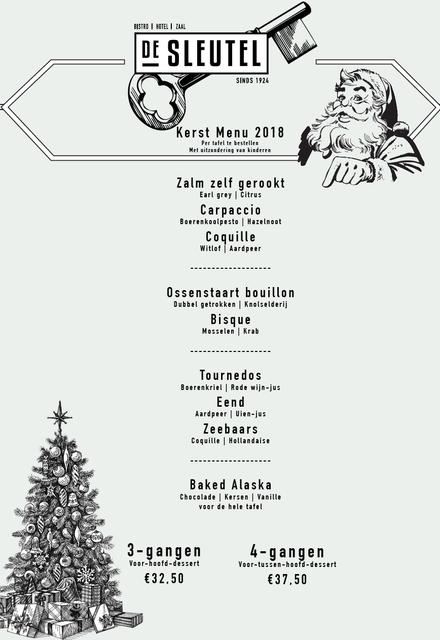Kerstmenu2018