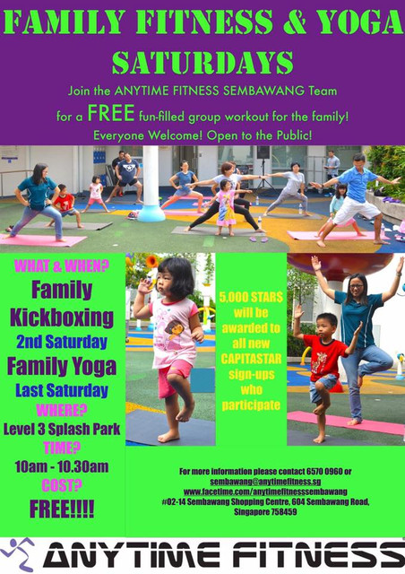 Family Fitness Yoga Fun
