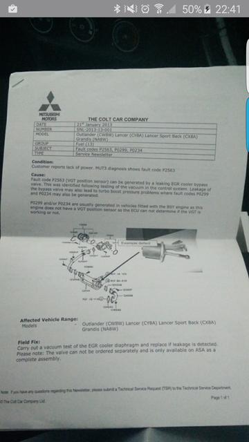 lancer 2 0 Di-D turbo/actuator - Mitsubishi Lancer Register Forum