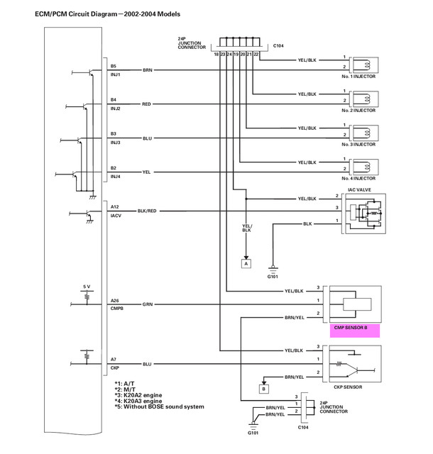 [DIAGRAM_5UK]  Cam sensor pinout info needed for custom head | Honda / Acura K20a K24a  Engine Forum | K20a Wiring Diagram |  | K20A.org