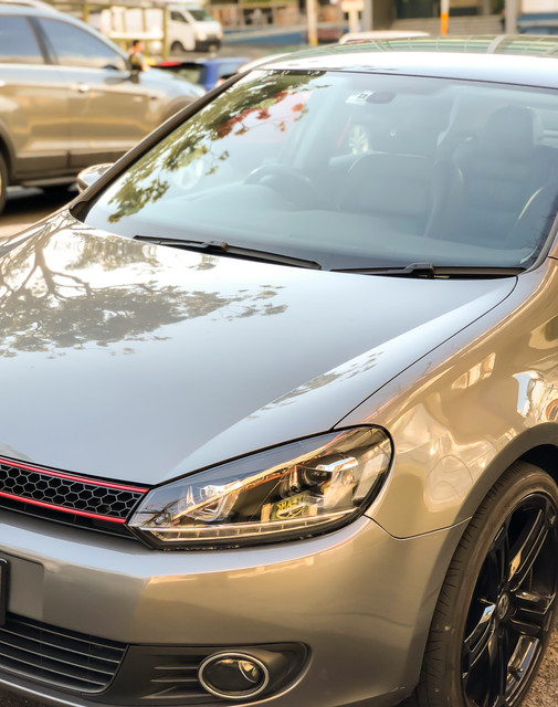 New Mk7 style headlights for Mk6 with LED DRL and sequential