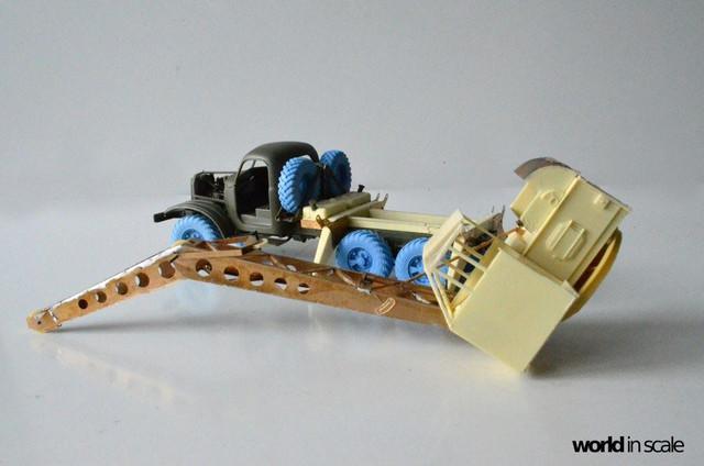 ZIL-157 + Bleichert-Crane - 1:35 by Trumpeter, ... 25299566_954753721358810_8817563516585677194_o