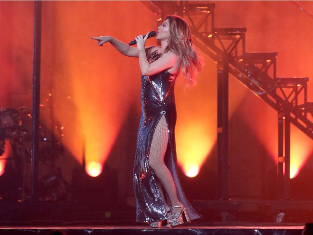 Shania Twain performed in Ottawa Monday evening June 25 2018 to delighted fans at Canadian Tire Cent