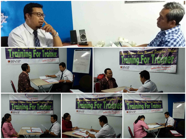 Training For Trainer Sertifikasi BNSP RS Santosa - Transwish indonesia - interview