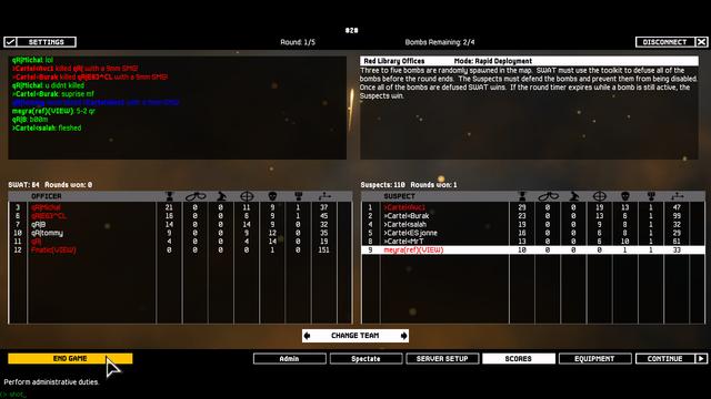 Cartel vs qR  2-6 Lost [Final League] 7