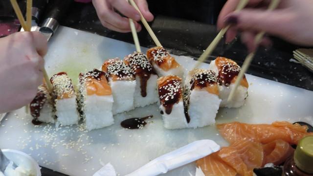 Мастер-класс по суши - состоялся...